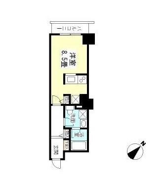 TKフラッツ渋谷714号室