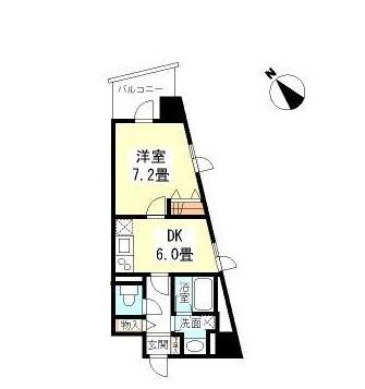 TKフラッツ渋谷808号室
