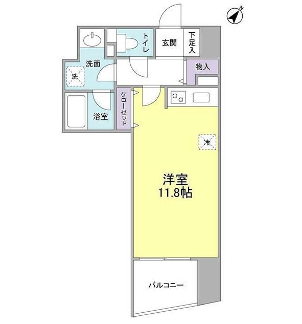 TKフラッツ渋谷907号室