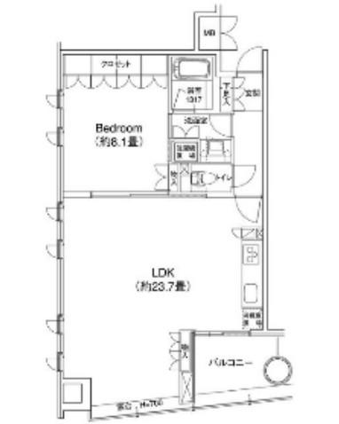 YOTSUYA RESIDENCE802号室