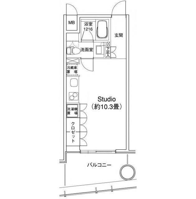 YOTSUYA RESIDENCE805号室