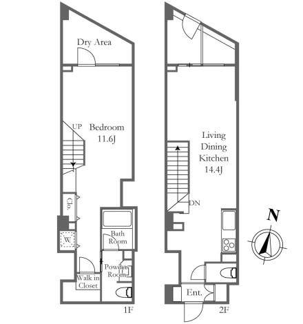 ベルファ-ス三宿213号室