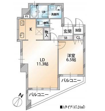 KDXレジデンス千駄ヶ谷302号室