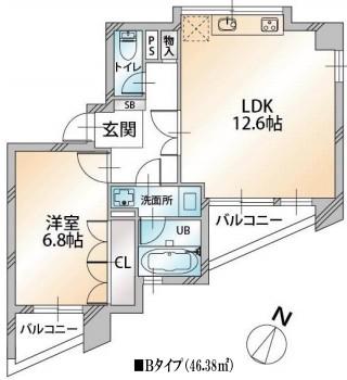 KDXレジデンス千駄ヶ谷401号室