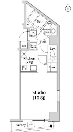 グレイスコート西麻布I602号室