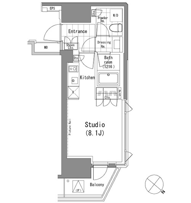 パークハビオ青山701号室