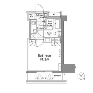 パークハビオ青山802号室