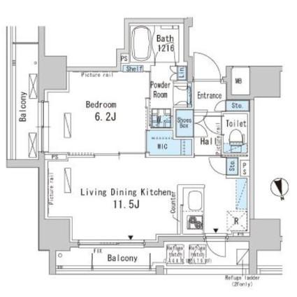 パークアクシス上野404号室