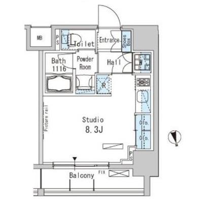 パークアクシス上野606号室