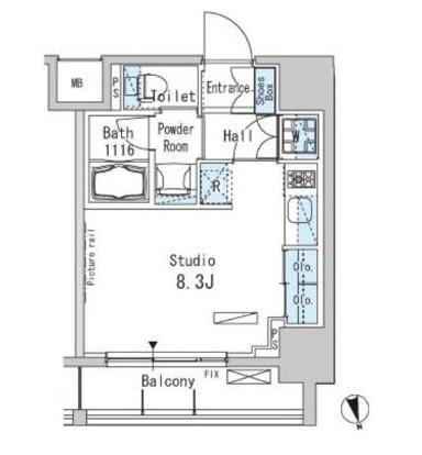 パークアクシス上野905号室