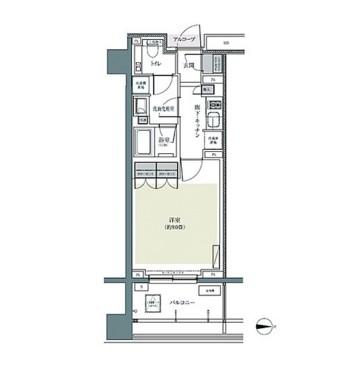 パークハウス東中野リヴゴーシュ217号室