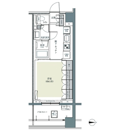 パークハウス東中野リヴゴーシュ218号室