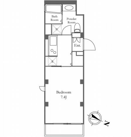 KDXレジデンス三宿 204号室