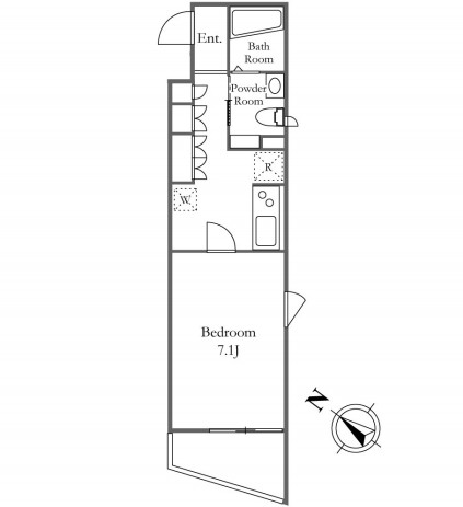 KDXレジデンス三宿304号室