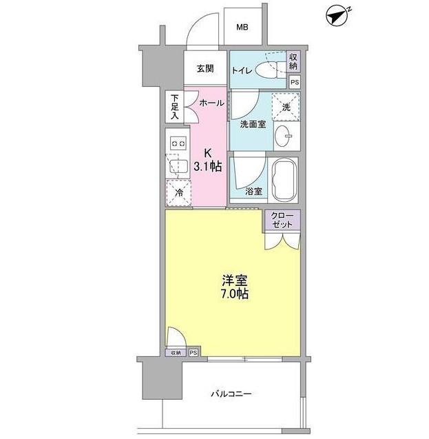 フレアージュ恵比寿602号室
