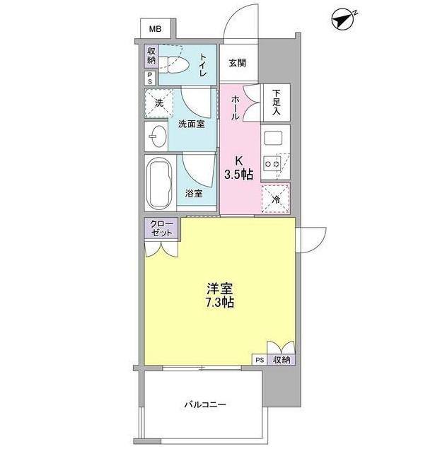 フレアージュ恵比寿901号室