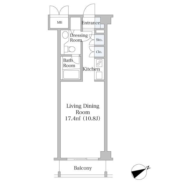 中野坂上ハイツ104号室