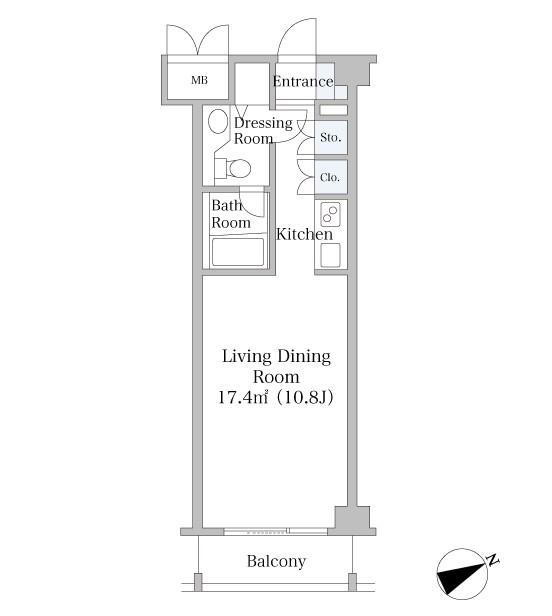 中野坂上ハイツ302号室