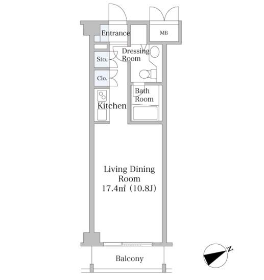 中野坂上ハイツ303号室