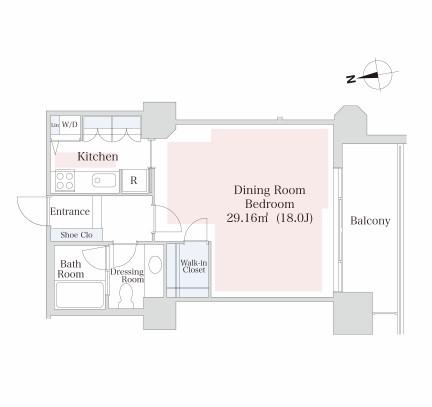 泉ガーデンレジデンス605号室