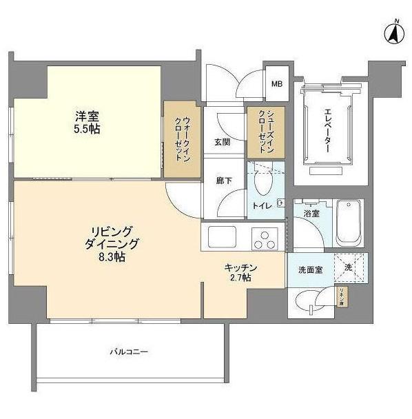 コスモリード原宿503号室