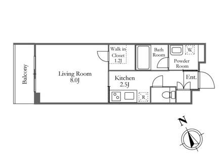 ガーデン富ヶ谷 113号室