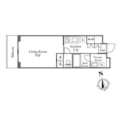 ガーデン富ヶ谷 213号室