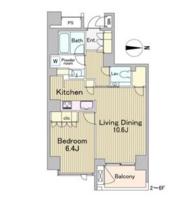 ラフォンテ麻布十番302号室