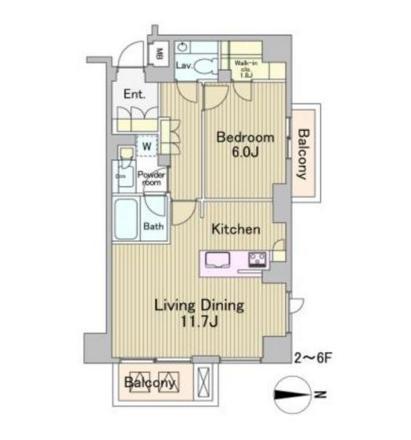 ラフォンテ麻布十番303号室