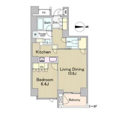 ラフォンテ麻布十番402号室