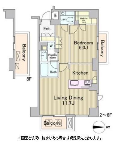 ラフォンテ麻布十番503号室