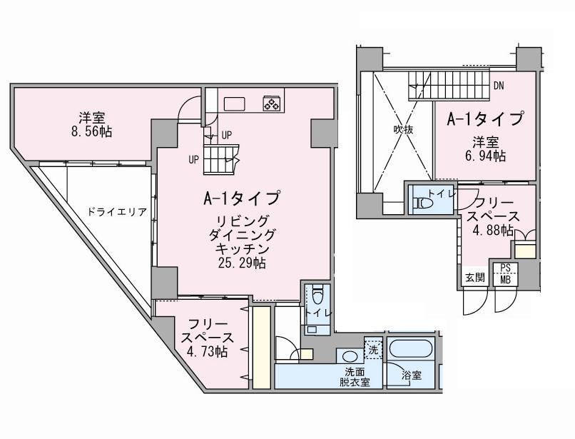 アボーデ代々木パークサイド201号室