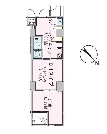 アボーデ代々木パークサイド204号室