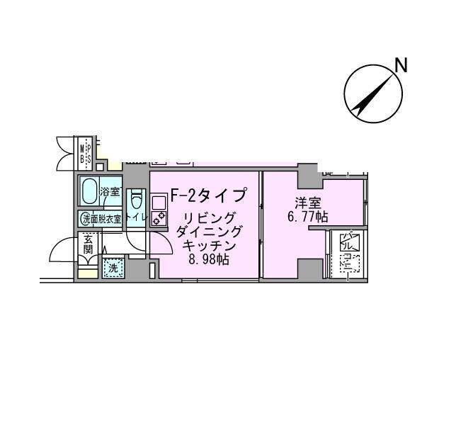 アボーデ代々木パークサイド306号室