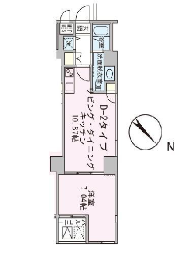 アボーデ代々木パークサイド404号室
