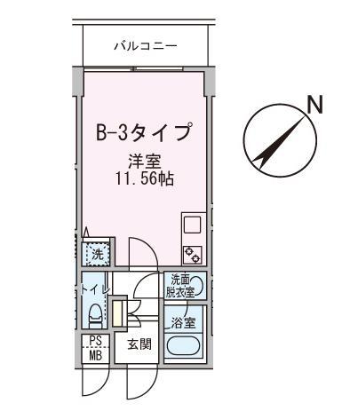 アボーデ代々木パークサイド502号室