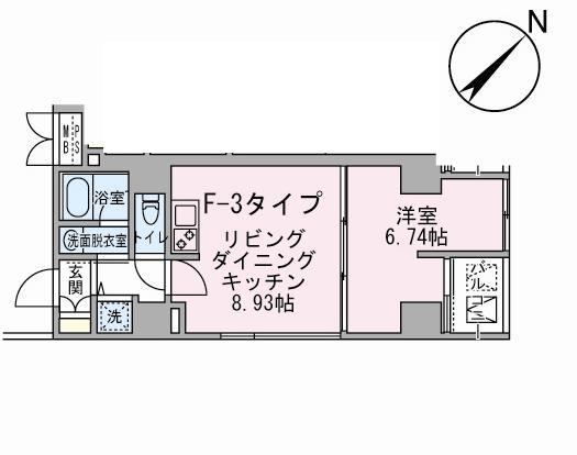 アボーデ代々木パークサイド603号室