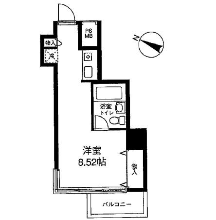 メゾン・ド・ヴィレ麻布台1306号室