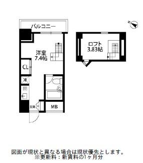 メゾン・ド・ヴィレ麻布台1401号室