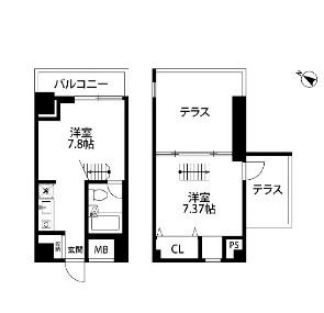 メゾン・ド・ヴィレ麻布台1403号室