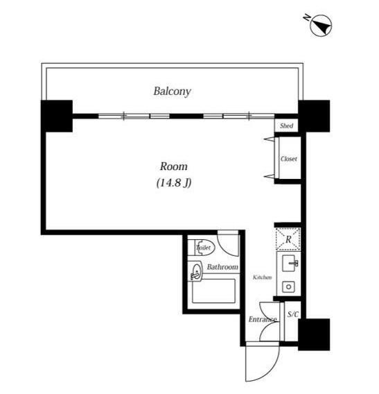 メゾン・ド・ヴィレ麻布台 202号室