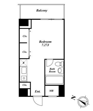 メゾン・ド・ヴィレ麻布台203号室