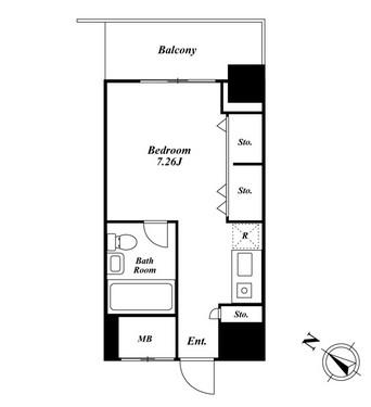 メゾン・ド・ヴィレ麻布台 204号室