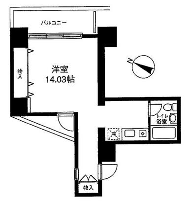 メゾン・ド・ヴィレ麻布台 301号室