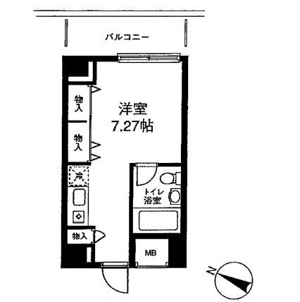 メゾン・ド・ヴィレ麻布台303号室