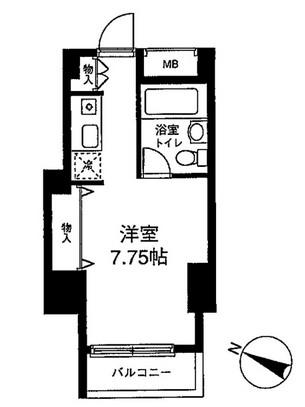 メゾン・ド・ヴィレ麻布台405号室