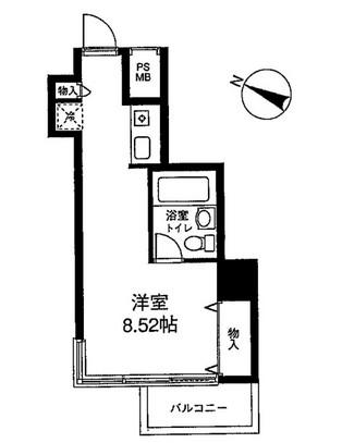 メゾン・ド・ヴィレ麻布台 806号室