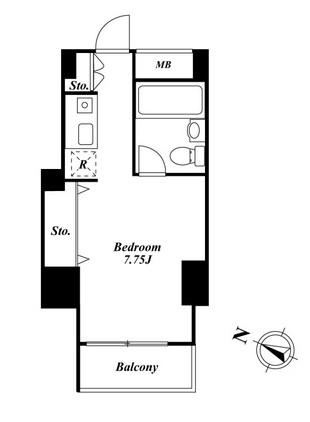 メゾン・ド・ヴィレ麻布台905号室