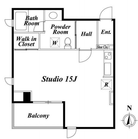 プレミアステージ芝公園604号室