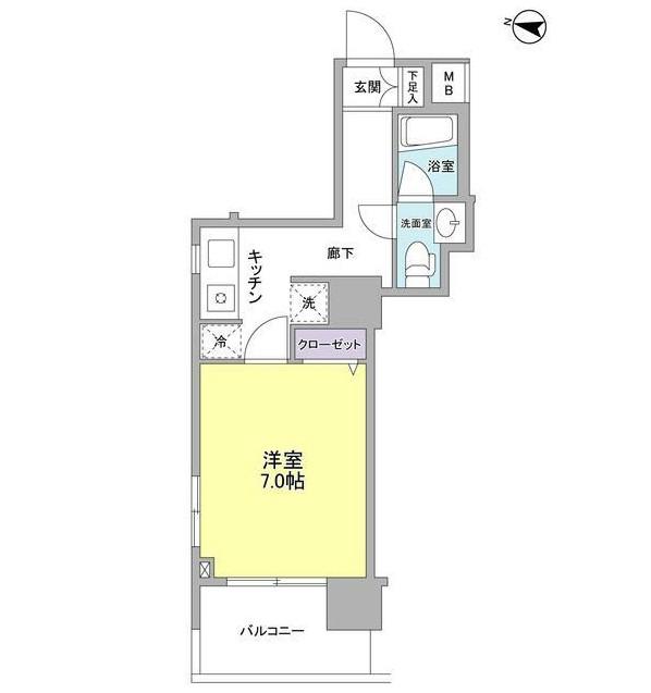 アイルズ東中野1101号室